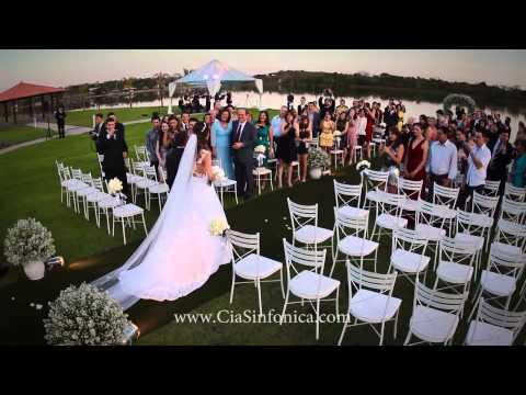 Entrada Noiva Adriele | A Thousand Years  | Cia. Sinfônica video