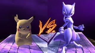 [TAS] Project M Turbo Mode Pikachu vs Mewtwo