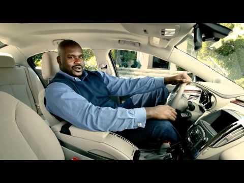 Шакил О`Нил в рекламе Buick Commercial