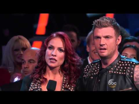Dancing With The Stars Season 21 Week 4 - Nick Carter & Sharna - Everybody (Backstreet's Back) Jazz