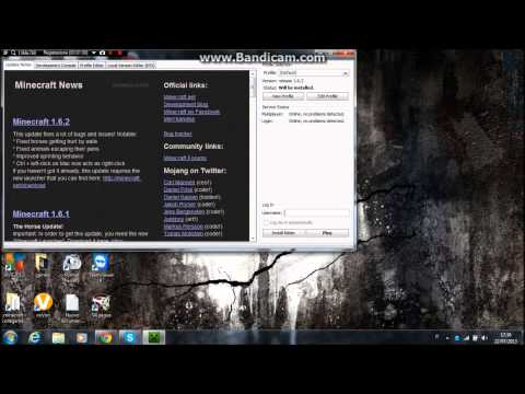 [tutorial ita] download minecraft launcher 1.1.1 (minecraft 1.6.2 )(free)(sp)