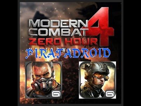 Modern Combat 4 Para Android APK + Datos SD WiFi 2014
