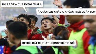 Chiến thắng của U23 Việt Nam trước U23 Thái Lan khiến các CĐV Đông Nam Á ngỡ ngàng, sửng sốt