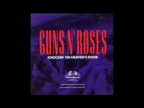 Guns N' Roses - Knockin' On Heaven's Door (Live At Wembley - Freddie Mercury Tribute Concert)