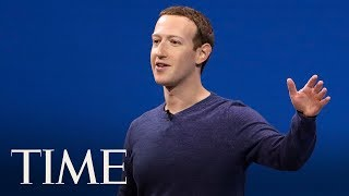 Mark Zuckerberg Gives The Keynote Speech At Facebook Developer Conference  TIME