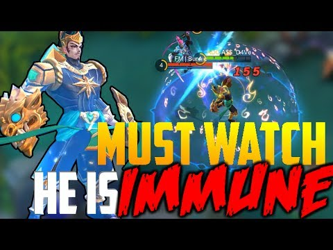 "GATOT KACA INVINCIBLE TO ""ANY"" CROWD CONTROL! MOBILE LEGENDS"