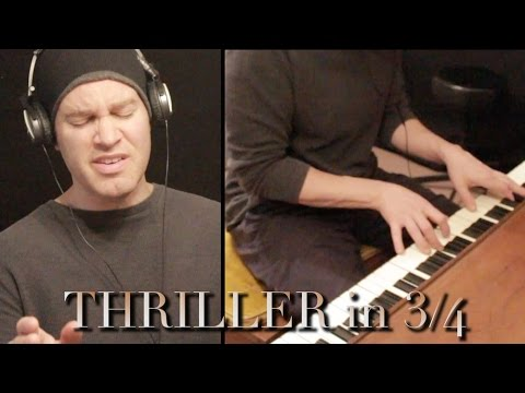THRILLER in 3/4 - Michael Jackson cover by Chris Commisso