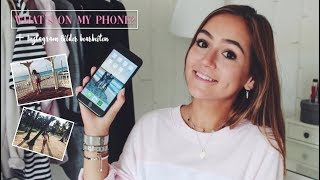What´s on my phone + WIE ICH INSTAGRAM BILDER BEARBEITE ▹ Zaramiraa ♡