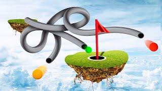 IMPOSSIBLE SPAGHETTI PIPELINE SKILL COURSE! (Golf It)