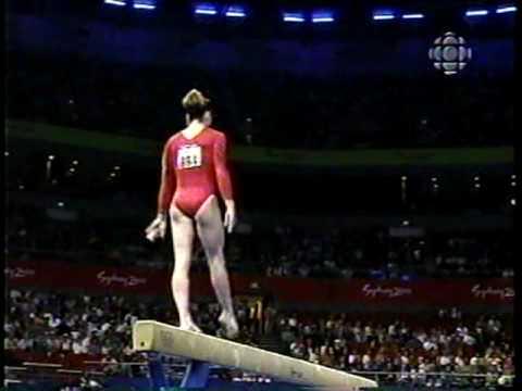 Ray - 2000 Sydney Olympics Gymnastics Prelims - Balance Beam - YouTube