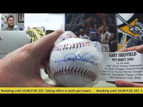 Edwin-2017 Tristar NY Baseball, 16-17 Gold Standard BK Live Break