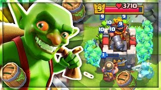 HILARIOUS 5 SECOND THREE CROWN TROLL DECK in Clash Royale!