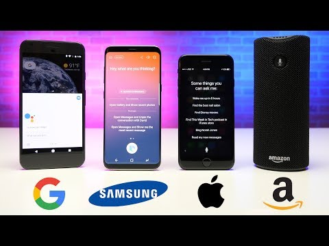 Alexa vs. Siri vs. Bixby RAP BATTLE!