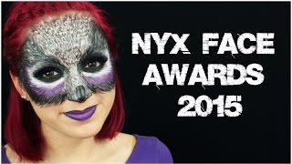 Purple Owl Transformation | NYX Face Awards 2015