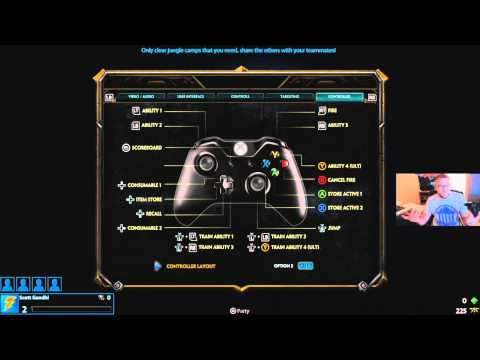 Xbox One Controller Buttons Layout Xbox One Smite Best Controller