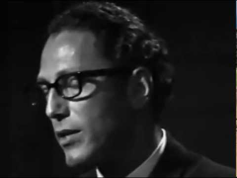 Tom Lehrer - The Vatican Rag - fabulous version - LIVE FILM From Copenhagen in 1967