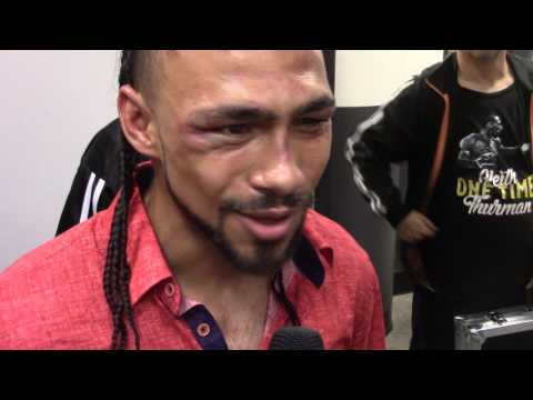 """Keith Thurman message to Danny Garcia """"GIVE ME MY BELT BOY!!!"""" HoopJab"""