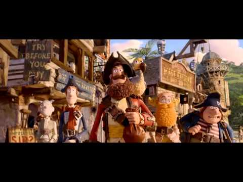 The Pirates! Band of Misfits (trailer)