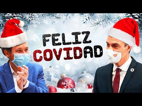 Feliz COVIDad | FELIZ NAVIDAD (Boney M.) | VILLANCICO político 2020 | Pedro Sánchez y Pablo Iglesias