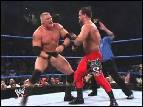 Chris Benoit vs Brock Lesnar (Smackdown, 4 December 2003)