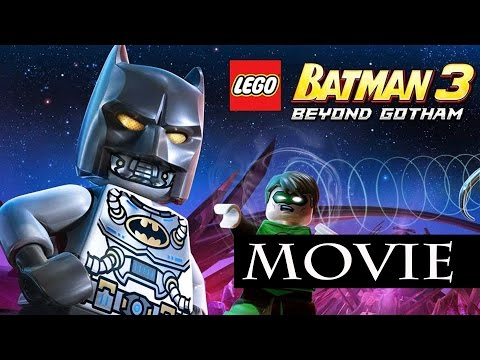Lego Batman 3 Beyond Gotham All Cutscenes / The Movie / Full Game Movi...