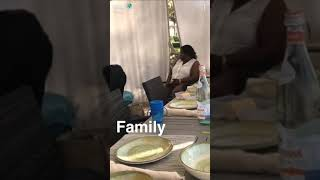 Anthony Joshua chilling in Dubai with his family enjoying Davido's song FIA