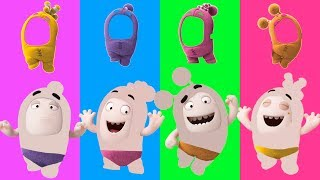 Wrong Clothes Oddbods Cartoon Parody Finger Family Song Nursery Rhymes for Kids Funny Video