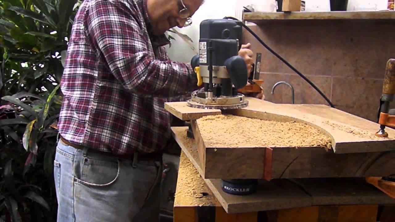 P7301442 tabla de picar de 18 x 24 youtube - Como hacer una tabla para picar de madera ...