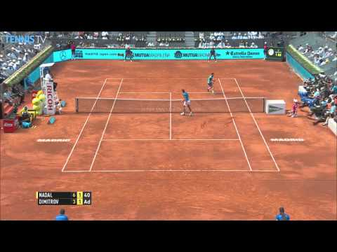 Madrid 2015 Friday Dimitrov Hot Shot