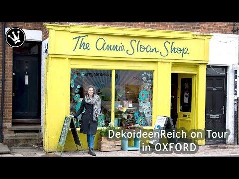 Kreativ Workshop im Atelier von ANNIE SLOAN + GEWINNSPIEL | DekoideenReich on Tour in OXFORD