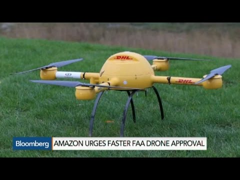 Jeff Bezos Wants the FAA to Move Faster on Drone Approval