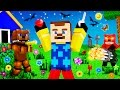 Minecraft - HELLO NEIGHBOR - FNAF VS NEIGHBOR!