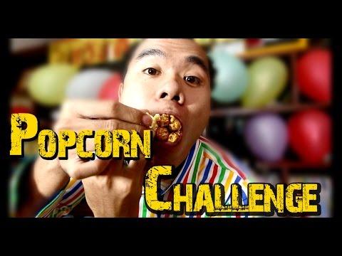 the popcorn challenge