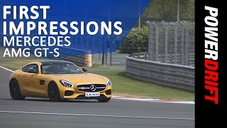 Mercedes AMG GT S : First Impressions : PowerDrift