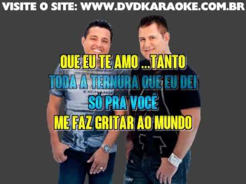 Bruno & Marrone   Te Amo Tanto