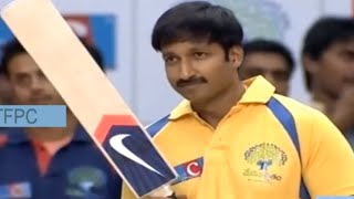 gopichand-battingcricket-match-memu-saitam-event-live-memu-saitham