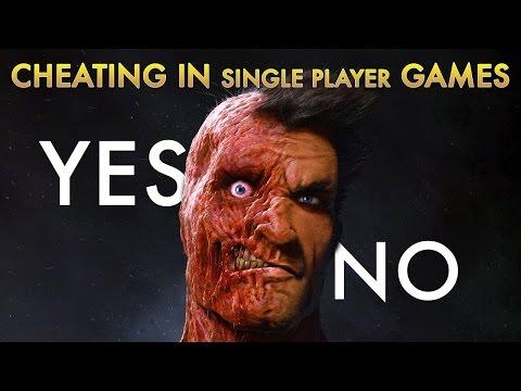 Должны ли читы быть допустимы в одиночных играх?