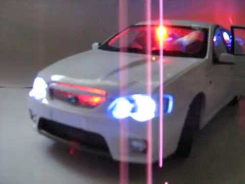 BA FPV GTP Ford Falcon Unmarked Highway Patrol Police Car