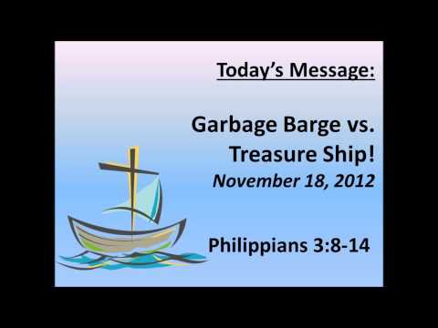Garbage Barge vs Treasure Ship