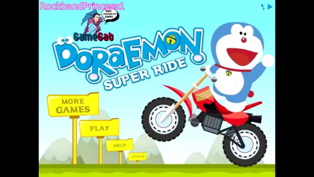 Bike Games To Play For Kids Doraemon Games To Play Online