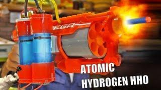 Hydrogen Powered Nerf Blaster!!!