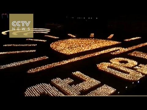 Pyongyang celebrates with mass rally