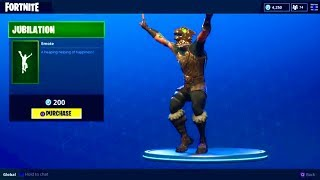 "NEW ""JUBILATION"" DANCE (Celebration Emote) - Fortnite Battle Royale"