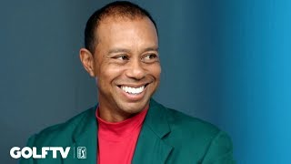 Tiger Woods' first interview after Masters victory No. 5