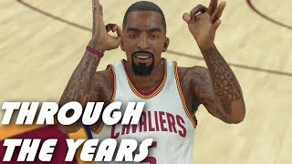 JR Smith Through The Years - NBA 2k5 - NBA 2k18