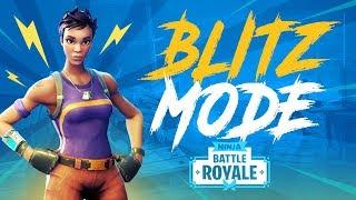 New Blitz! (Squad) Game Mode! - Fortnite Battle Royale Gameplay - Ninja