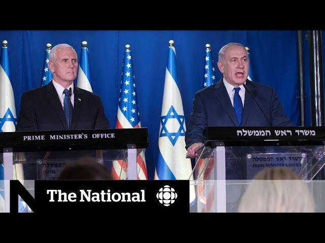 Pence's Israel visit appears to further divide region