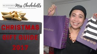 Christmas Gift Guide 2017 (Innisfree , Sephora Collection, Tarte, The Face shop)
