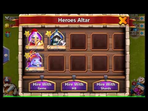 Castle Clash Review, FREE Legendary Champion