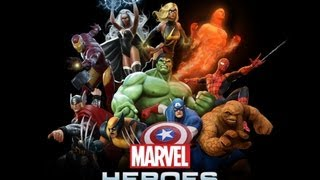 Marvel Heroes gameplay, the Thing, Closed Beta!